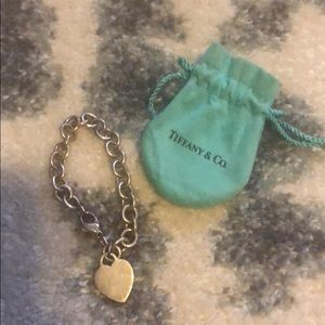 Tiffany and Co. Classic heart bracelet. Must go